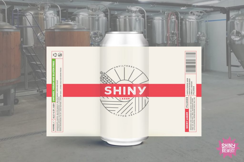 SHINY LAGER CAN